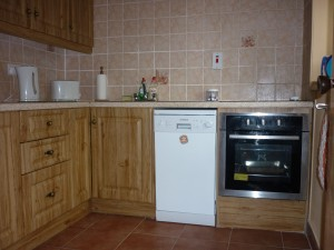 Kitchen - Fishing Holiday Accommodation, Killeshandra, Cavan